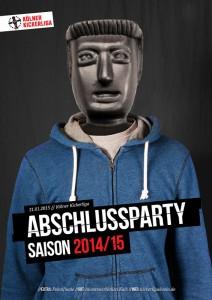 Saisonabschlussparty 2014/15